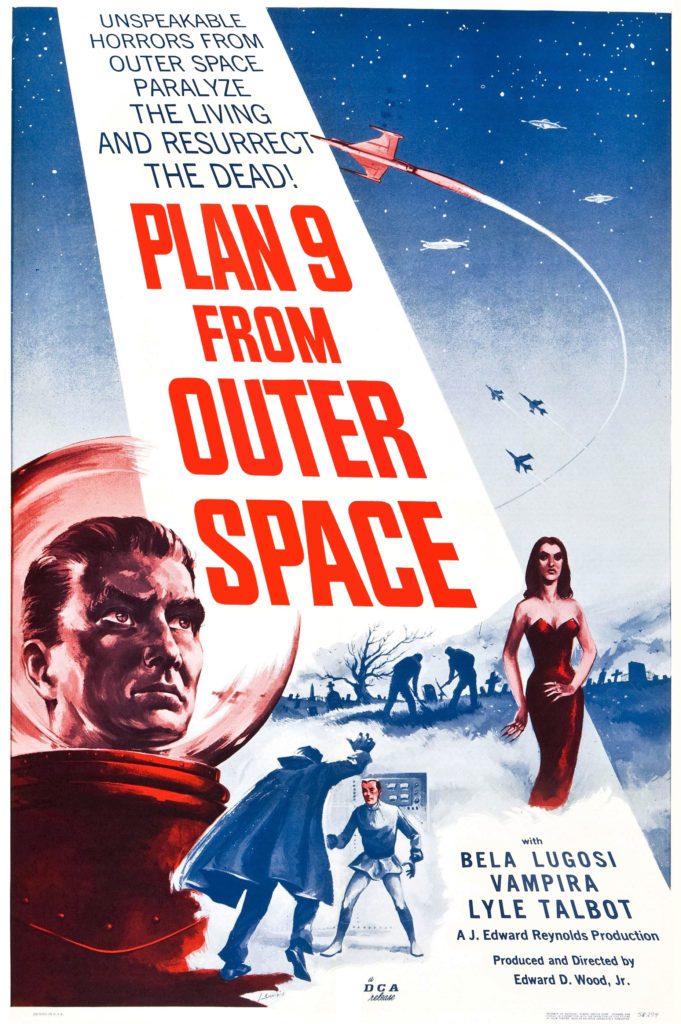 Plan 9 From Outer Space Film Poster